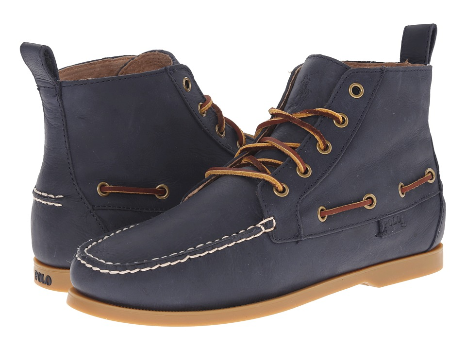 Polo Ralph Lauren - Barrott (Newport Navy Waxy Pull Up) Men