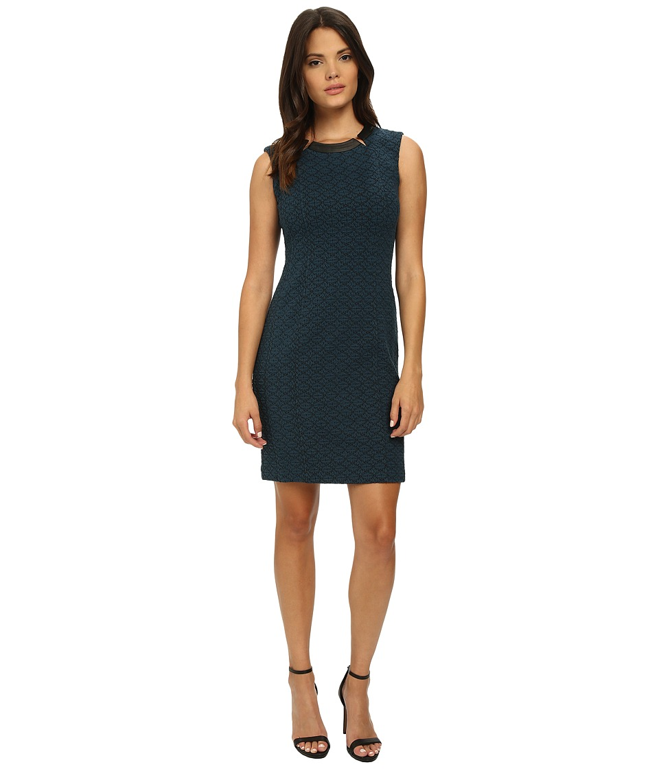 Nanette Lepore - Rite of Passage Dress (Dark Teal) Women's Dress