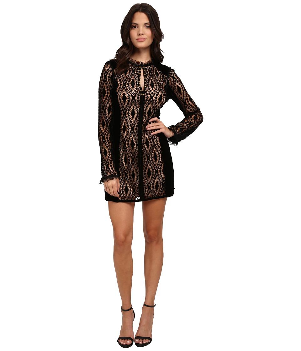 Nanette Lepore - Lacy Lady Dress (Black) Women's Dress