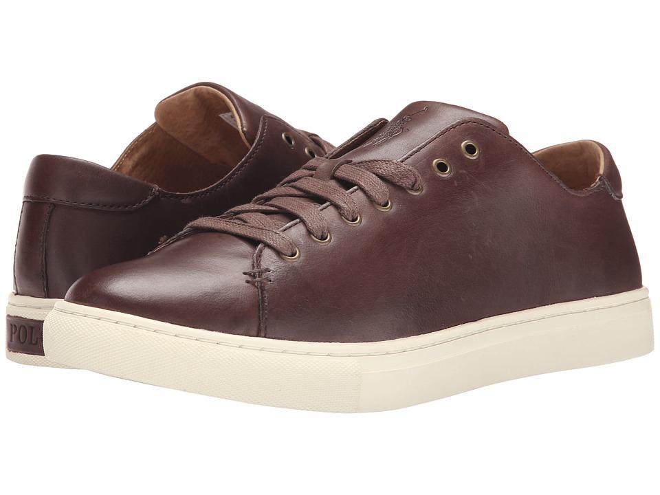 Polo Ralph Lauren - Jermain (Dark Brown Burnished Leather) Men