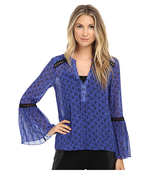 Nanette Lepore - Utopia Top (Cornflower) Women's Clothing