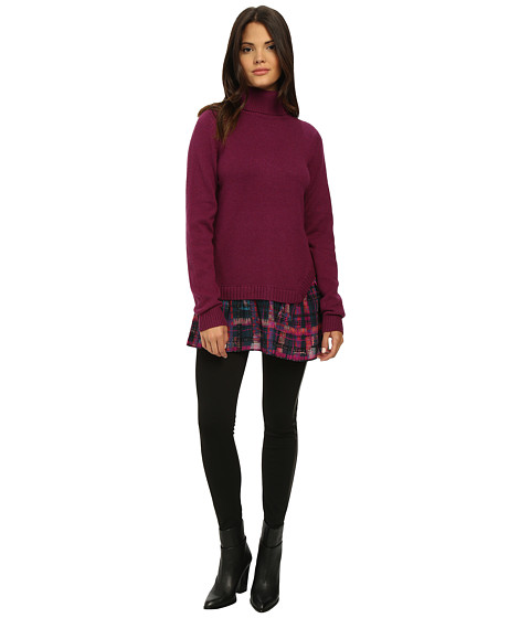 Nanette Lepore - Hush Hush Sweater (Raspberry) Women's Sweater