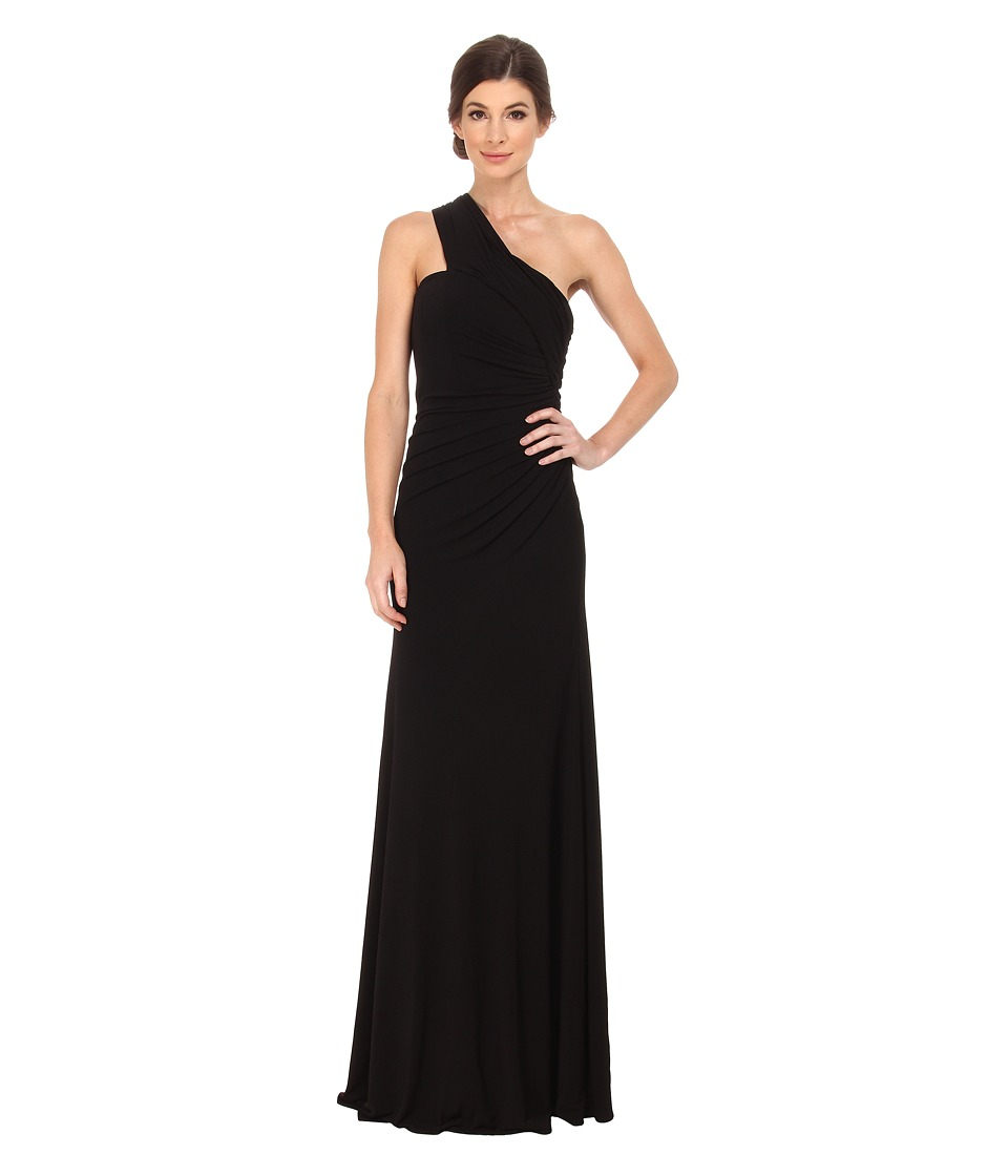 Rachel Zoe - Rassy One Shoulder Jersey Dress (Black) Women's Dress