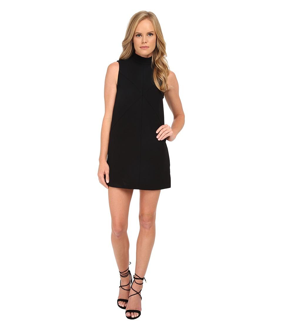 Rachel Zoe - Annalisa Sleeveless Crepe Dress (Black) Women's Dress