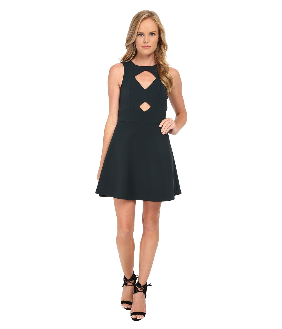 Rachel Zoe - Page Cutout Sleeveless Dress (Loden) Women's Dress