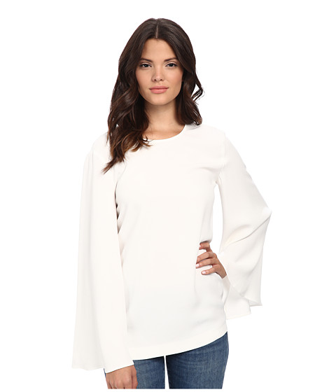 Rachel Zoe - Maud Crepe Top (White) Women