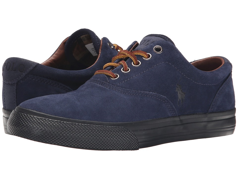 Polo Ralph Lauren - Vaughn (Newport Navy Sport Suede) Men's Lace up casual Shoes