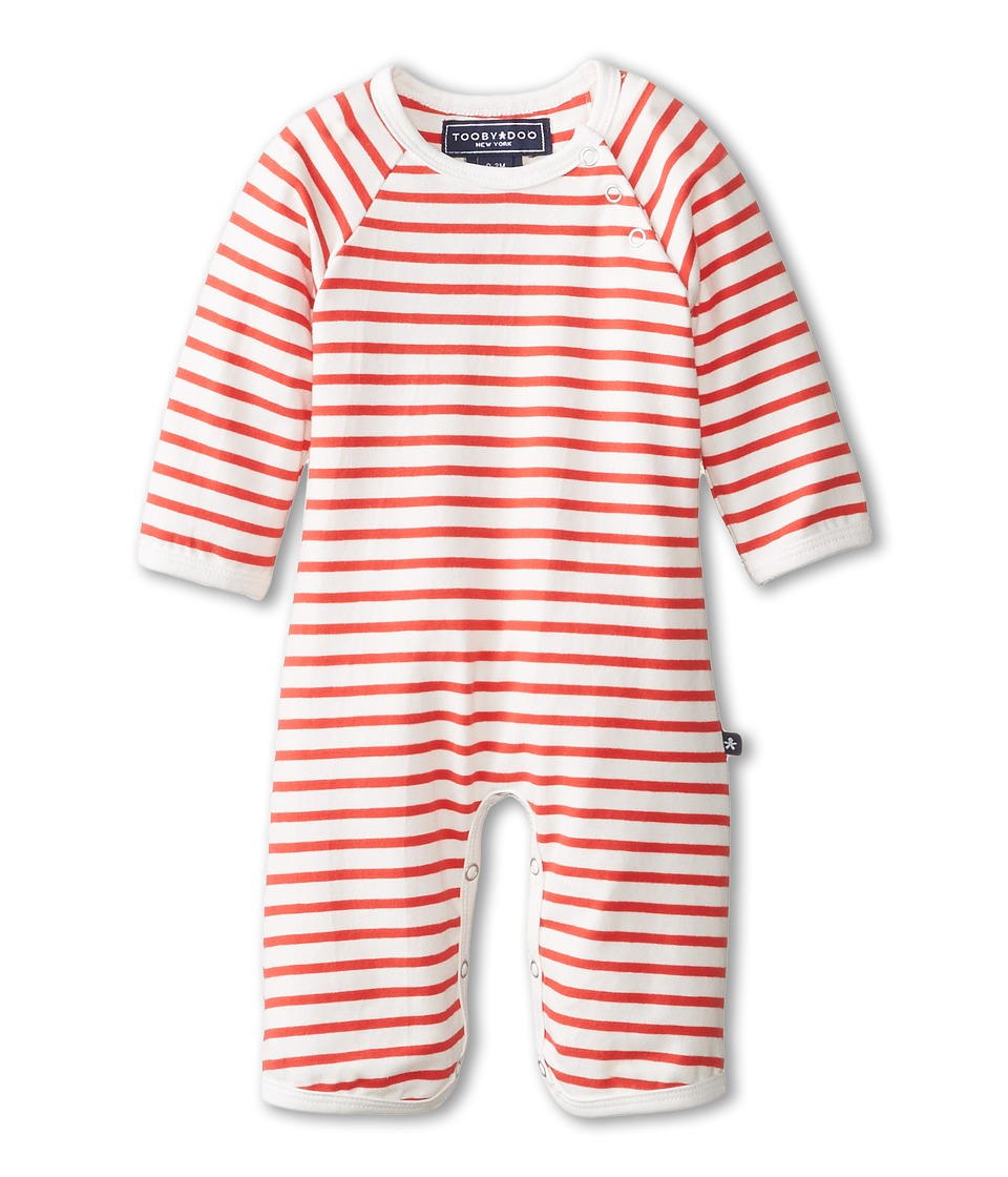 Toobydoo - Chelsea Jumpsuit (Infant) (Red) Kid's Jumpsuit & Rompers One Piece
