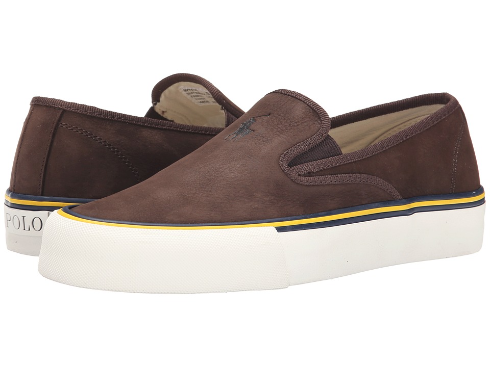 Polo Ralph Lauren Mytton (Dark Brown Silky Nubuck) Men