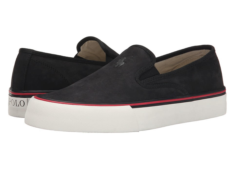 Polo Ralph Lauren - Mytton (Black Silky Nubuck) Men