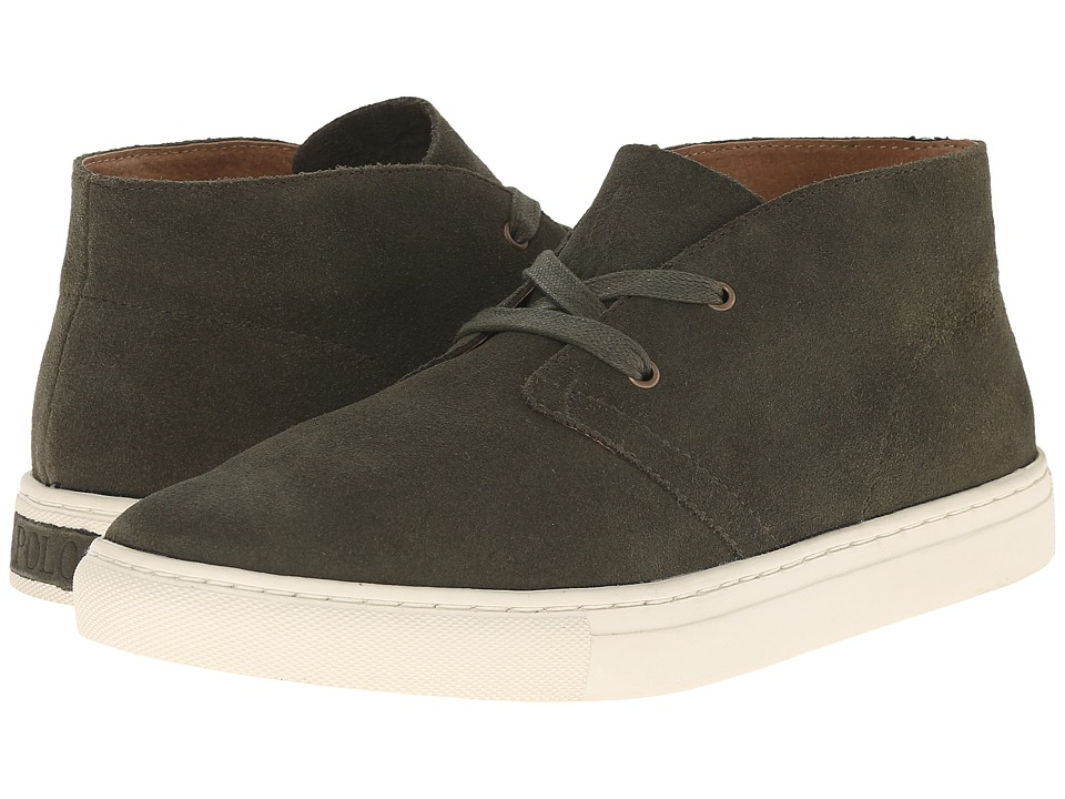 Polo Ralph Lauren - Joplin (Brown Sport Suede) Men's Shoes