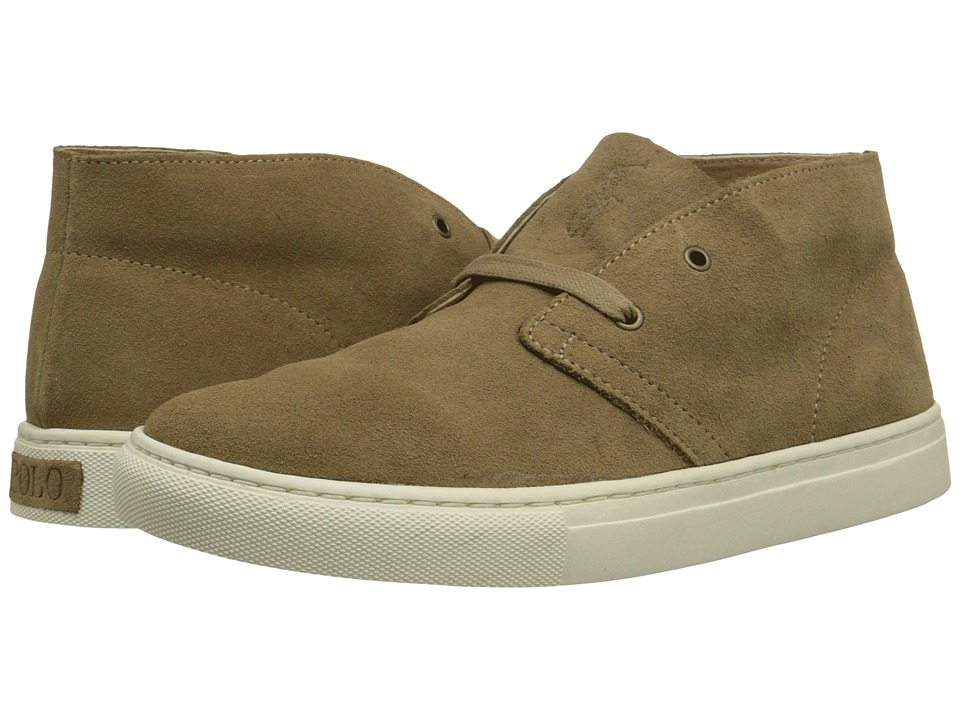 Polo Ralph Lauren - Joplin (Dark Tan Sport Suede) Men's Shoes