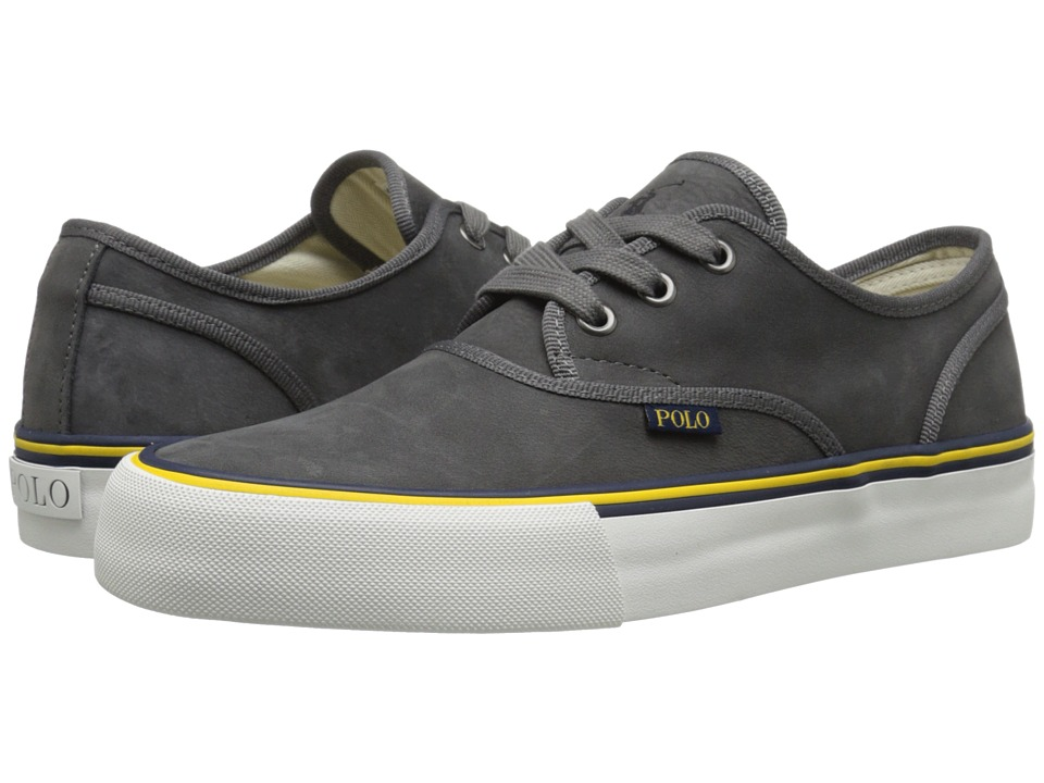 Polo Ralph Lauren - Morray (Dark Grey Silky Nubuck) Men