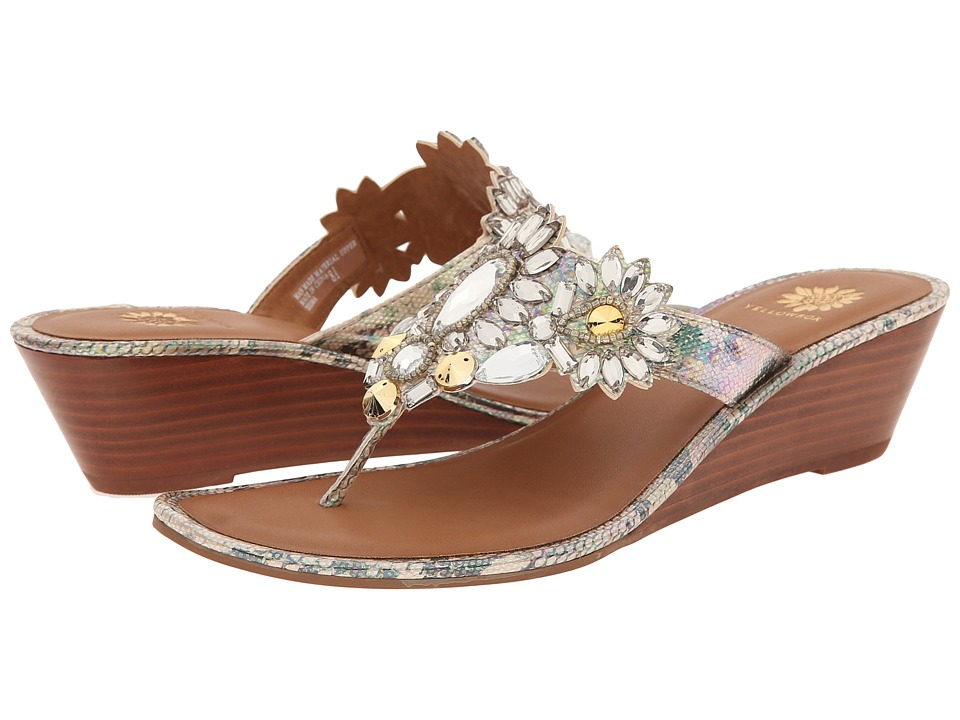 Yellow Box - Desma (Platino) Women's Sandals