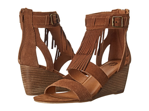 Yellow Box - Easton (Chestnut) Women's Wedge Shoes