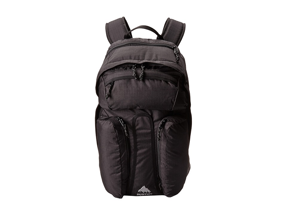 Burton - Curbshark Pack (True Black Heather Twill) Day Pack Bags