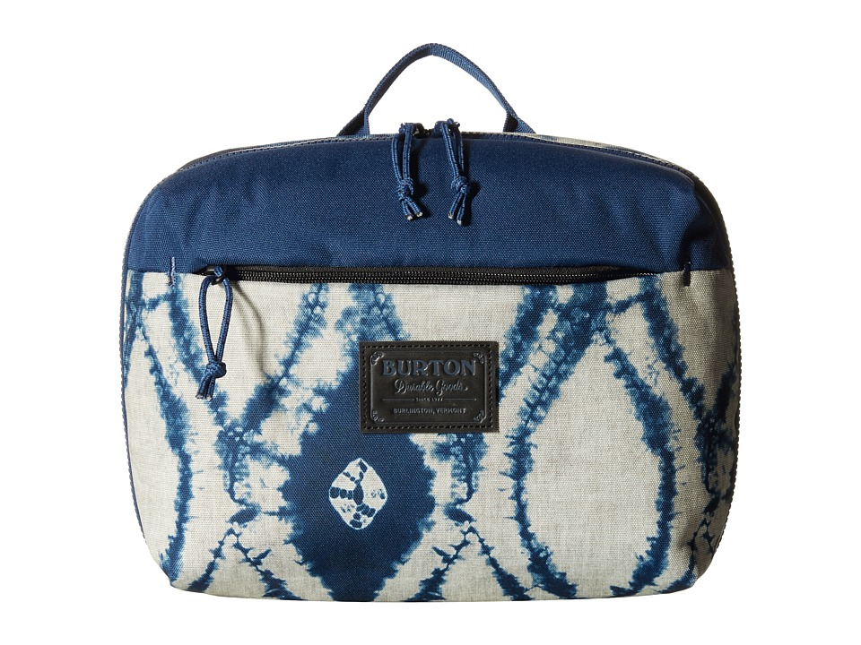Burton - High Maintenance Kit (Indigo Batik) Travel Pouch