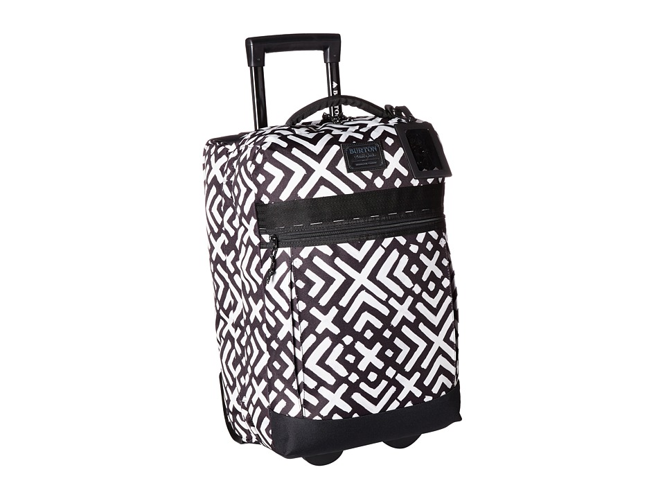 Burton - Overnight Roller Travel Bag (Geo Print) Travel Pouch