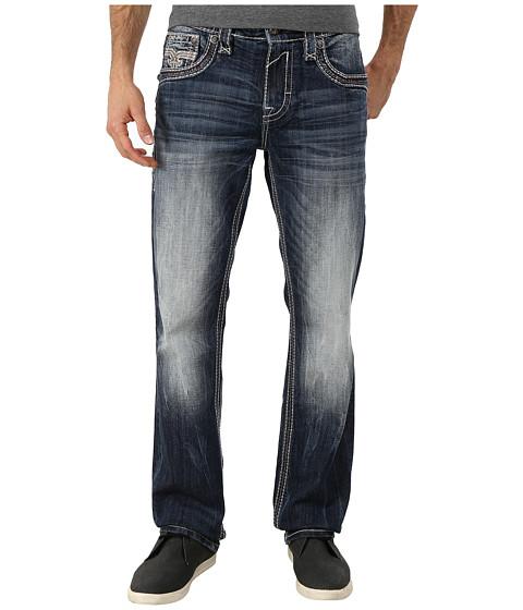 Rock Revival - Crete J (Medium Indigo) Men's Jeans