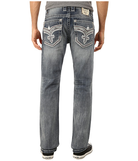 Rock Revival - Lon J400 (Light Indigo) Men's Jeans