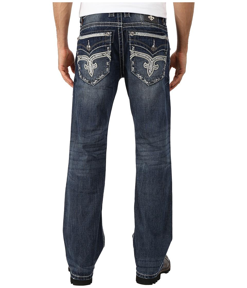 Rock Revival - Potts B402 Bootcut (Medium Indigo) Men's Jeans