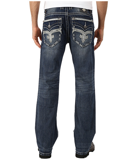 Rock Revival - Potts B402 Bootcut (Medium Indigo) Men's Jeans