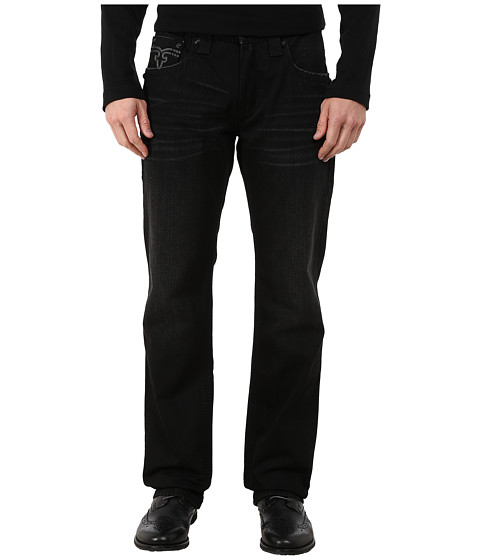Rock Revival - Dan J34 (Black) Men's Jeans