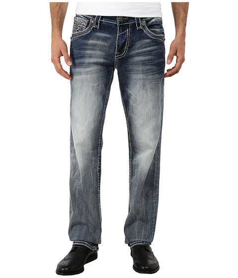 Rock Revival - Jayson (Light Indigo) Men's Jeans