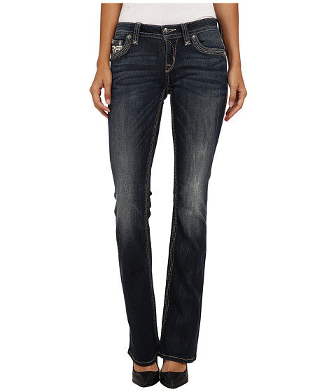 Rock Revival - Barby B400 Bootcut (Dark Indigo) Women's Jeans