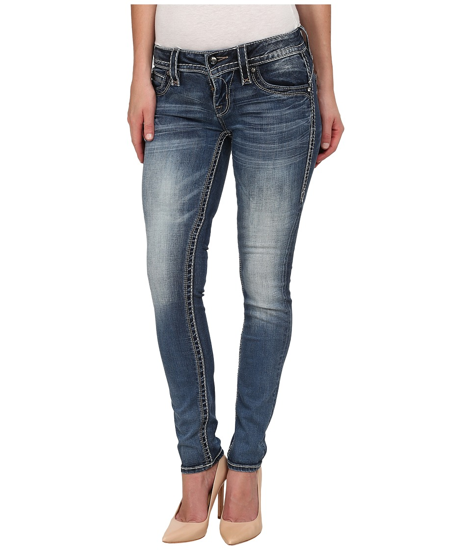 Rock Revival - Adele S41 Skinny (Medium Indigo) Women