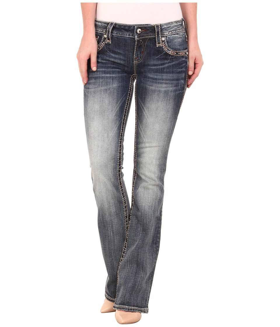 Rock Revival - Celine B80 Bootcut (Medium Indigo) Women's Jeans