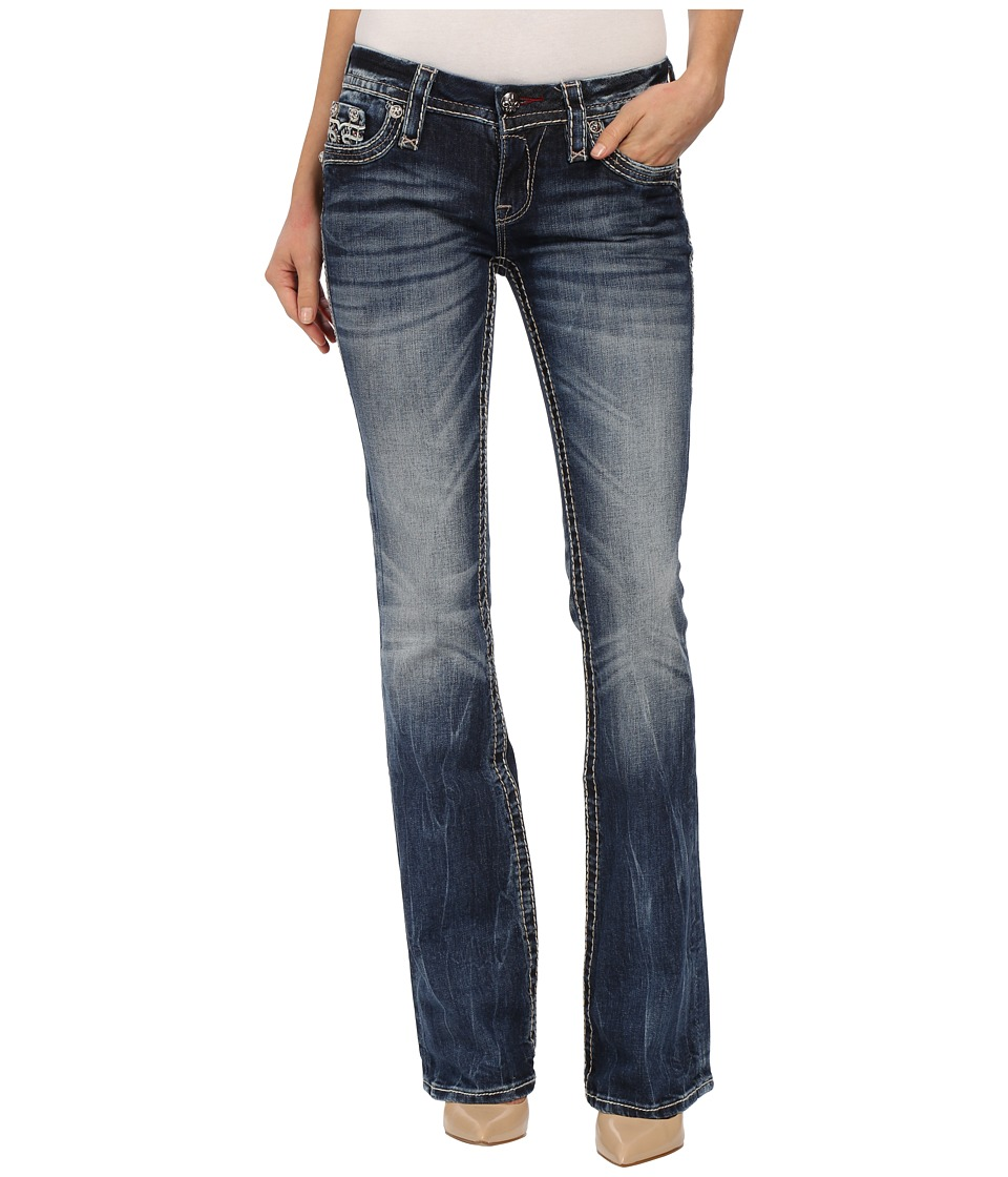 Rock Revival - Abelen B Bootcut (Medium Indigo) Women's Jeans
