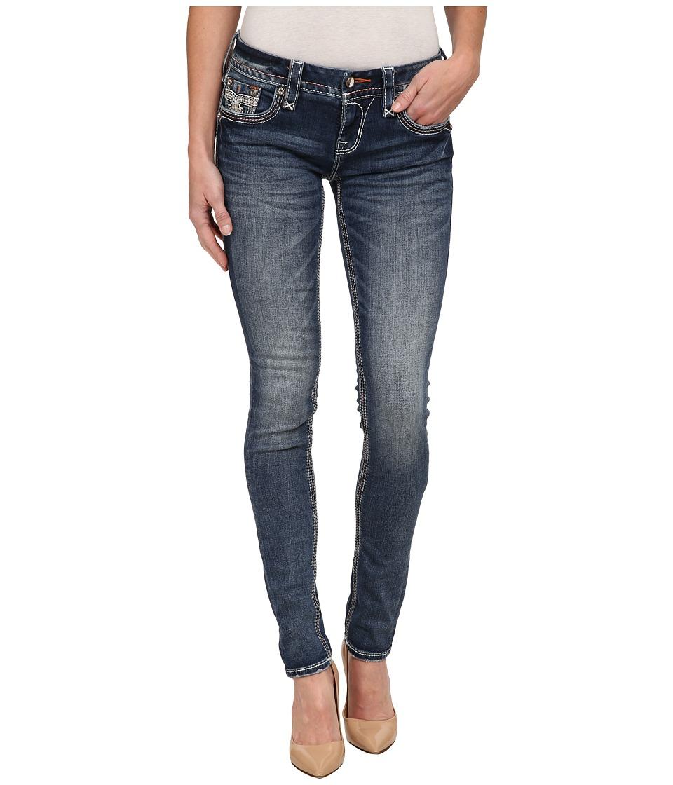 Rock Revival - Jamey S200 Skinny (Medium Indigo) Women's Jeans