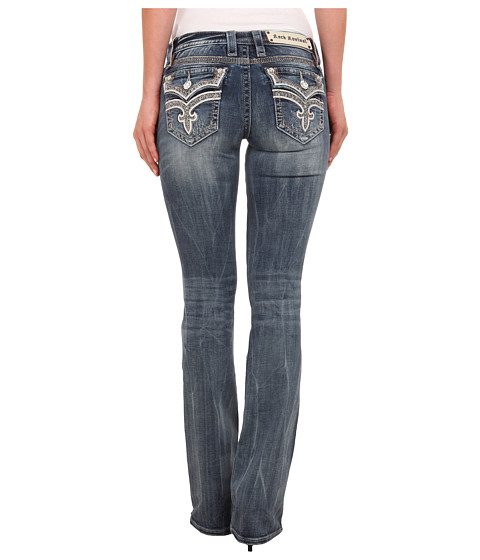Rock Revival - Manisa B7 Bootcut (Medium Blue) Women's Jeans