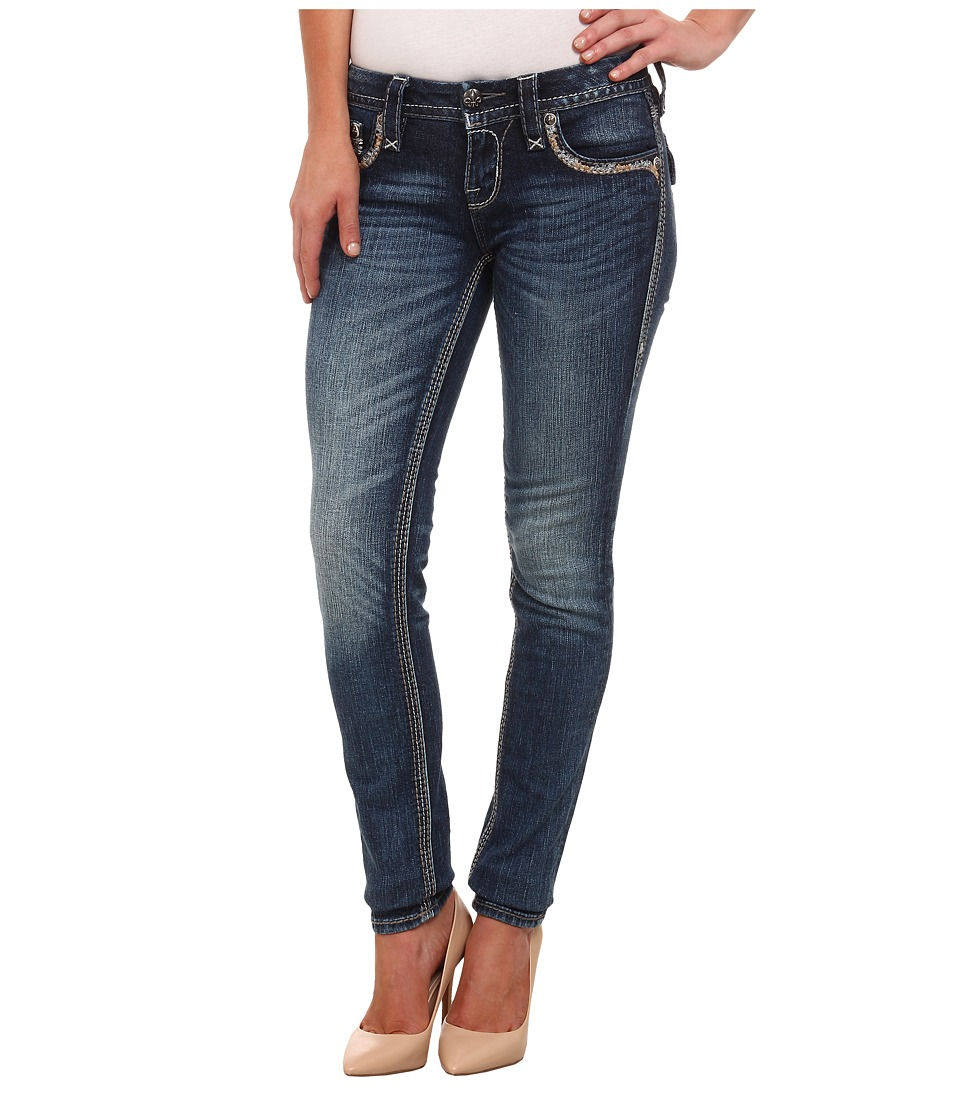 Rock Revival - Xia S202 Skinny (Medium Indigo) Women's Jeans