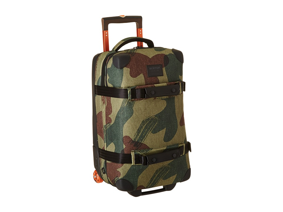 Burton - Wheelie Flight Deck (Denison Camo) Carry on Luggage