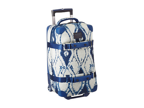 Burton - Wheelie Flight Deck (Indigo Batik) Carry on Luggage