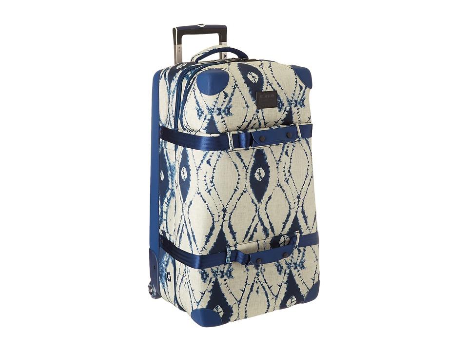Burton - Wheelie Double Deck (Indigo Batik) Duffel Bags