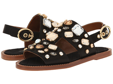 Dolce & Gabbana - CQ0001 (Black) Women's Sandals