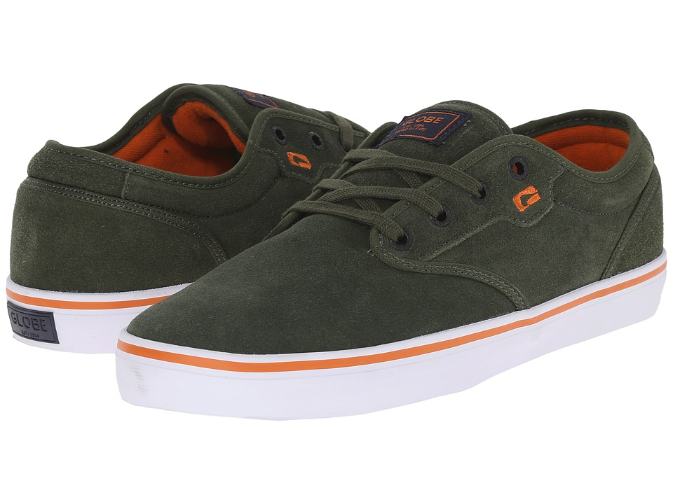 Globe - Motley (Olive/Rust) Men's Skate Shoes