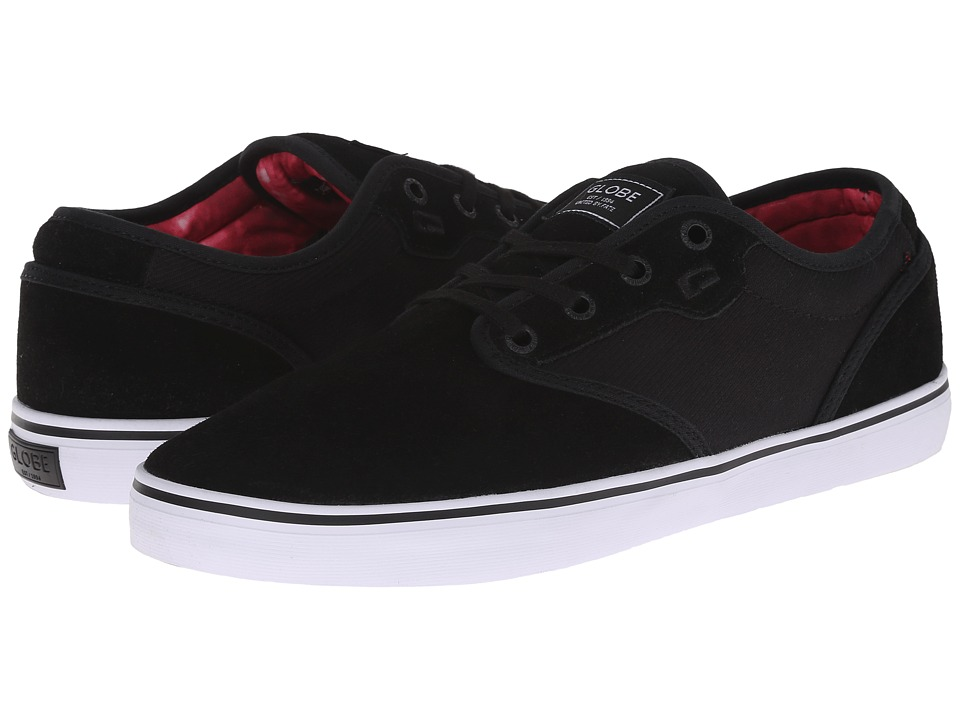 Globe - Motley (Black/Black Cord) Men's Skate Shoes