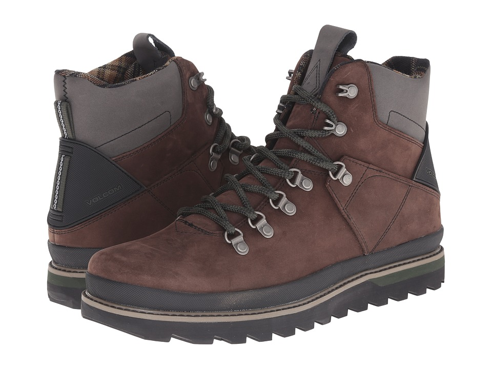 Volcom - Outlander (Dark Brown) Men's Hiking Boots