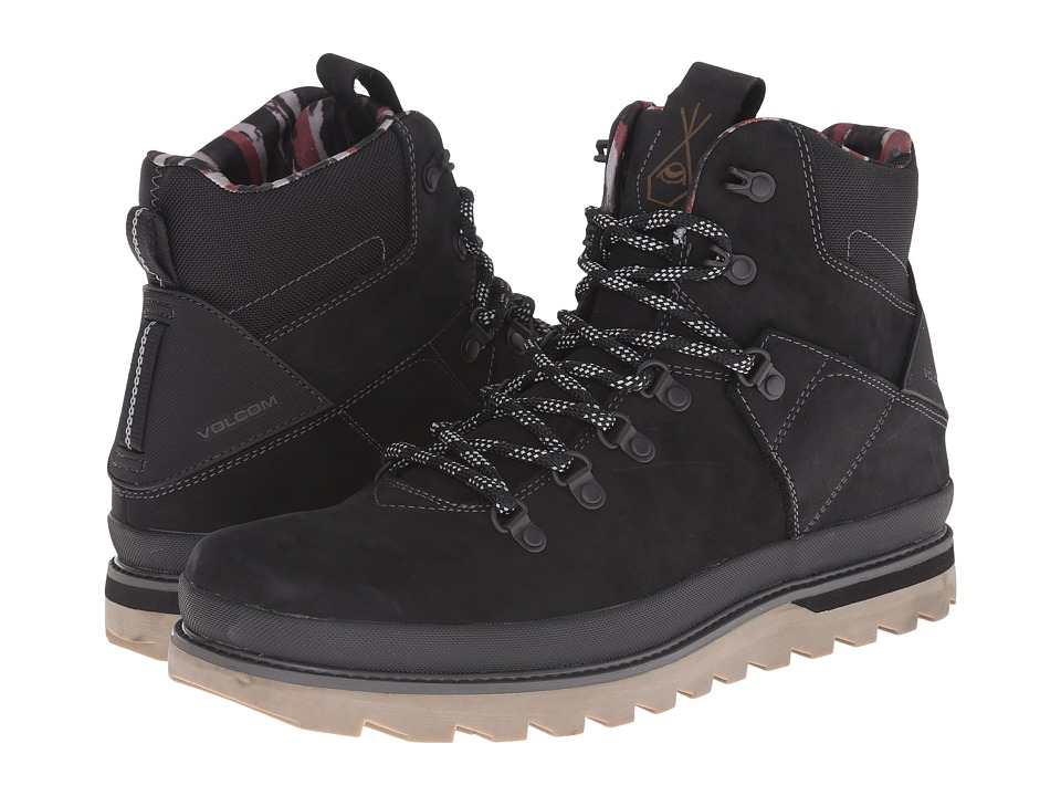 Volcom - Outlander (New Black) Men's Hiking Boots