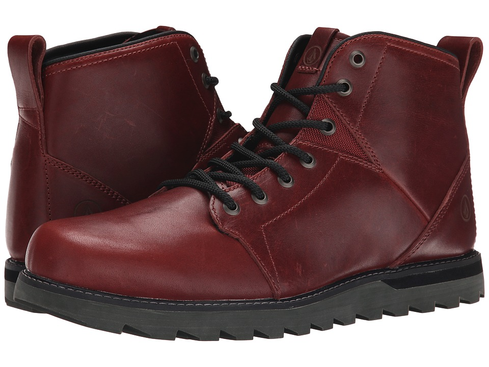 Volcom - Contra (Blood Red) Men's Hiking Boots