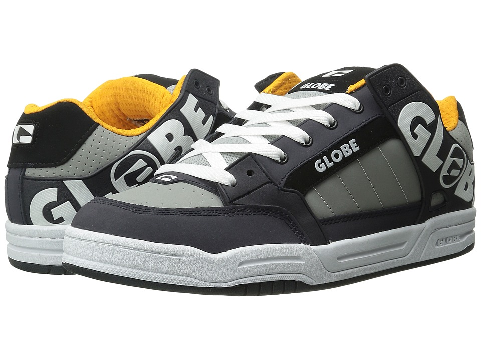 Globe - Tilt (Grey/Orange) Men's Skate Shoes