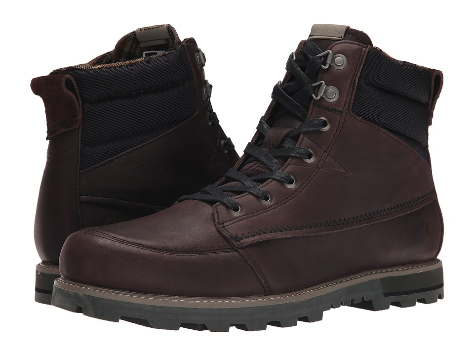 Volcom - Sub Zero 2 (Hide Brown) Men's Lace-up Boots