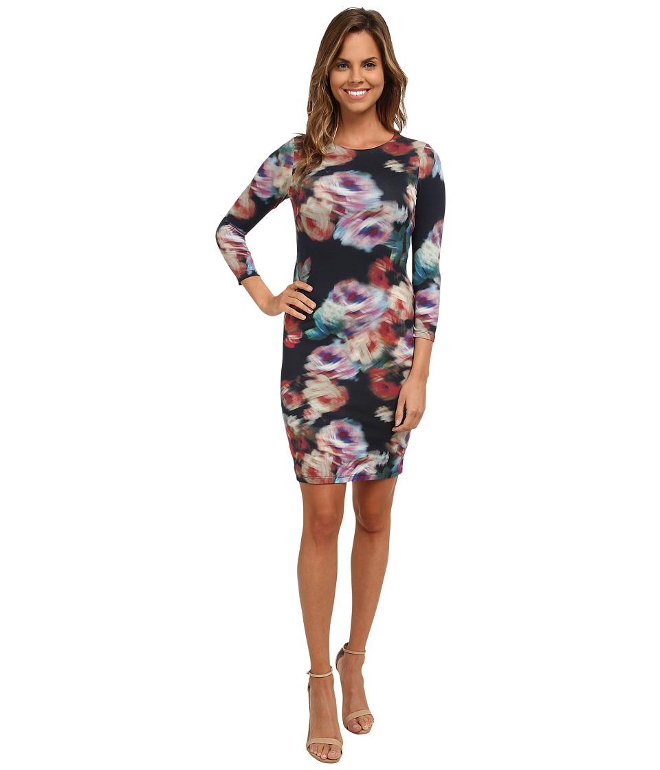 Karen Kane - Abstract Rose Sheath Dress (Print) Women