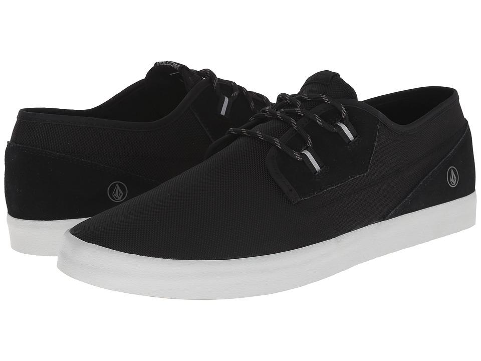 Volcom - Delphi (Vintage Black) Men's Lace up casual Shoes