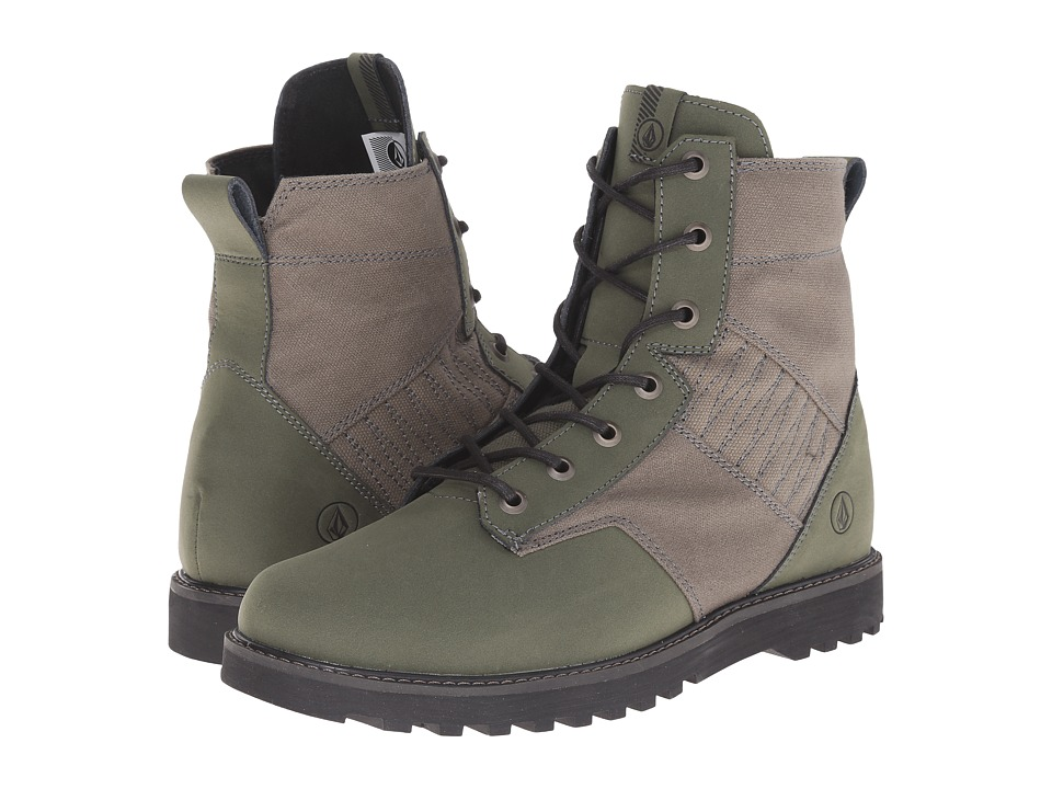 Volcom - Hemlock Boot (Military) Women's Lace-up Boots