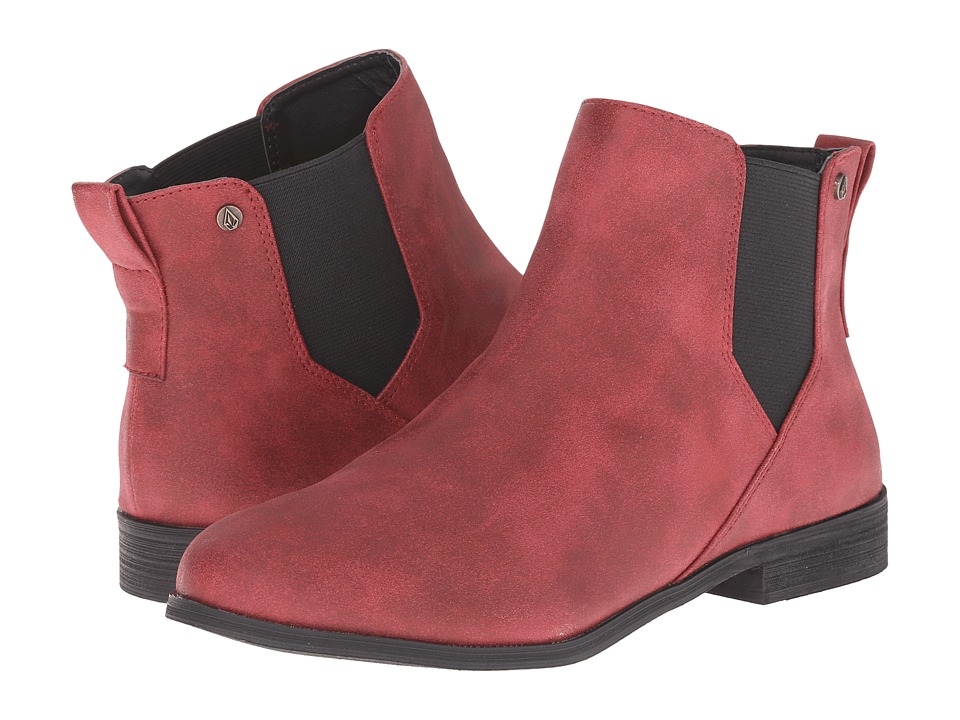Volcom - Killer (Burgundy) Women's Pull-on Boots